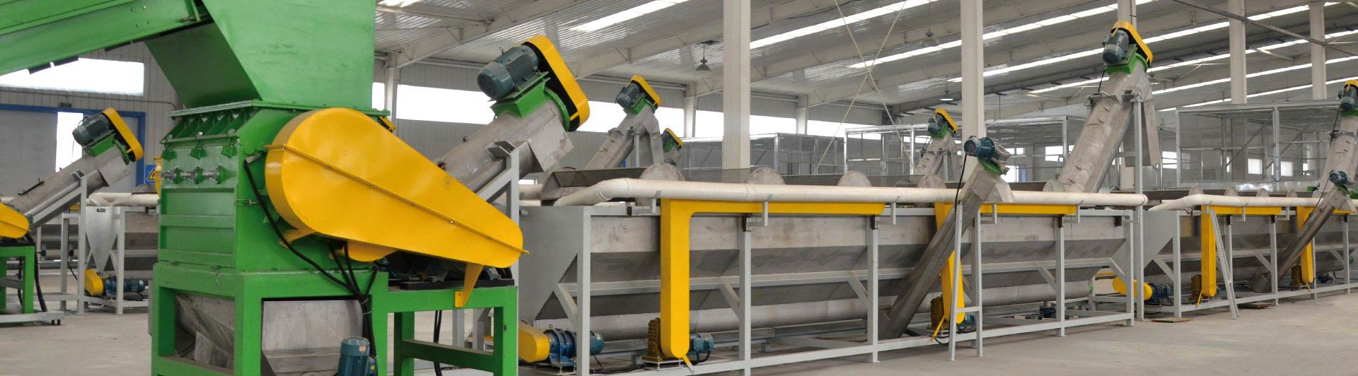 pe pp recycling line
